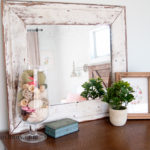 Reclaimed Shiplap Antiqued Mirror