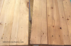 Farmhouse Vintage Stain Technique | inbetweenchaos.com
