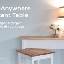 Go Anywhere Accent Table
