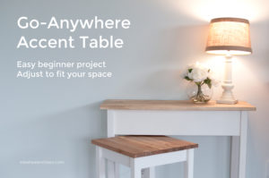Go Anywhere Table | inbetweenchaos.com