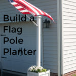 Flag Pole Planter