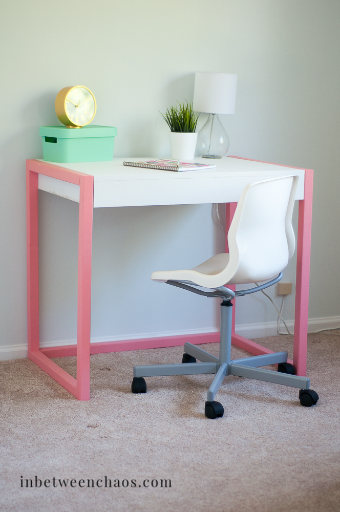 Fun Modern Desk Plans | inbetweenchaos.com