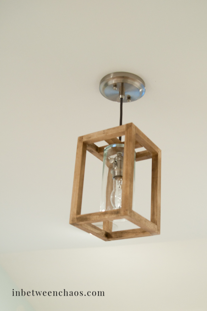 Ultimate DIY Lighting Guide Wood Edition - Basic light fixture