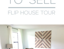 Plaid No More! Project House Wrap-Up