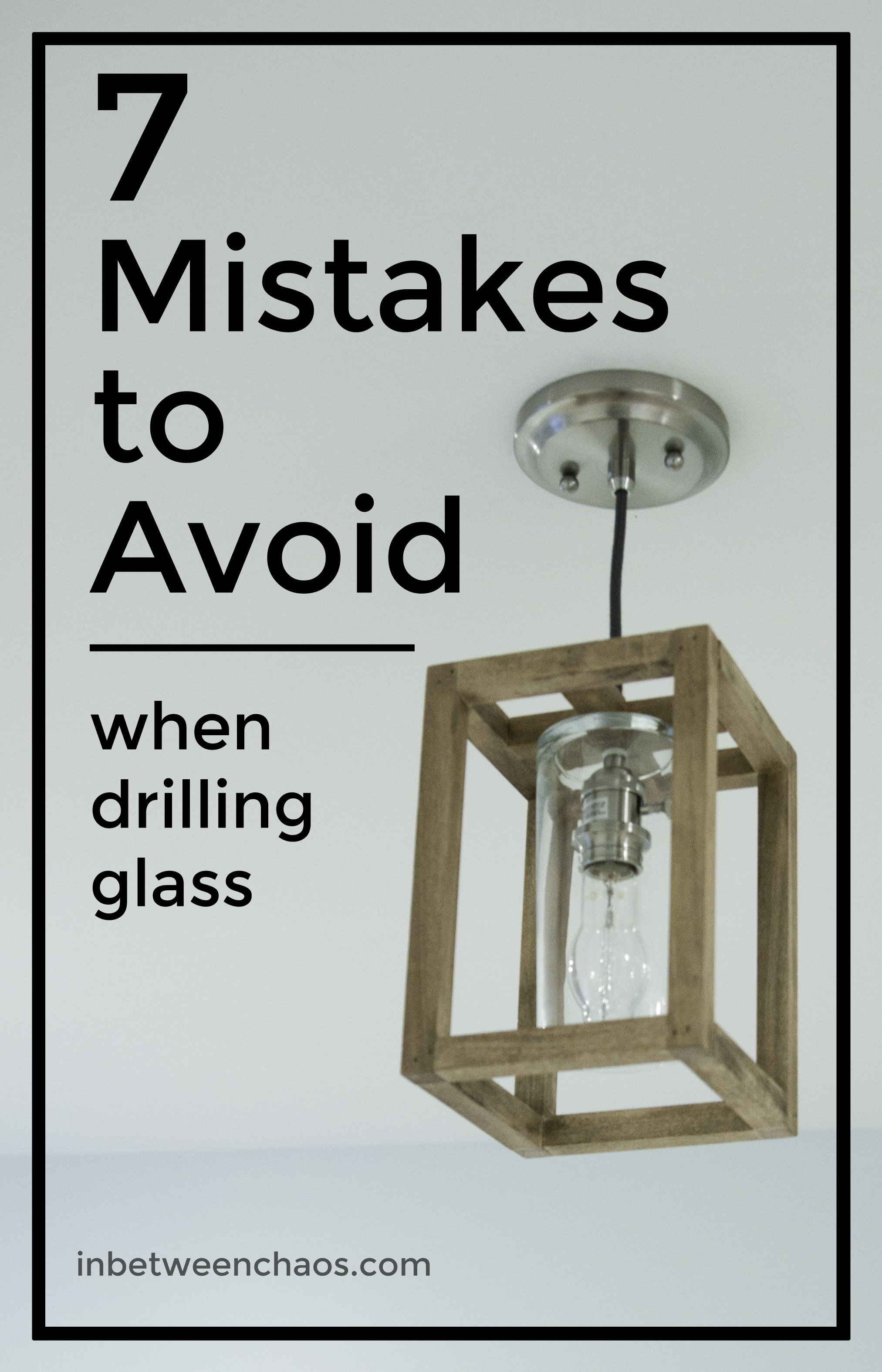 Glass Drilling Tips and Mistakes to Avoid | inbetweenchaos.com