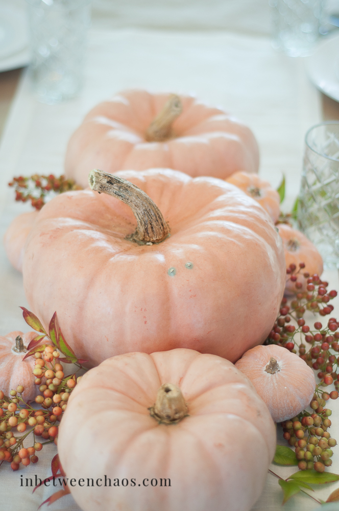 Relaxed Thanksgiving Tablescape | inbetweenchaos.com