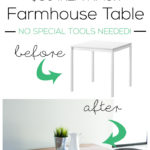 IKEA Farmhouse Table Hack
