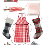 A Plaid Farmhouse Christmas