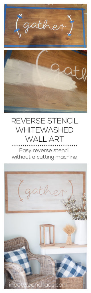 Whitewashed Gather Art