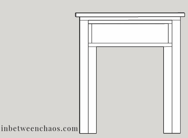 Build Your Own Fireplace Surround & Mantel | inbetweenchaos.com