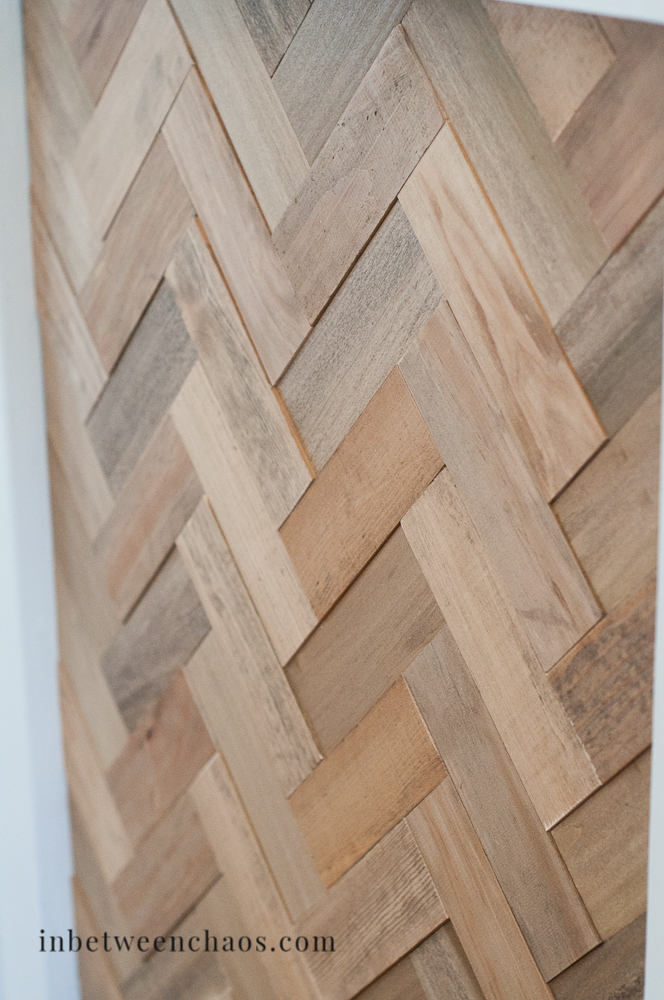 How to Lay Out a Herringbone Design | inbetweenchaos.com