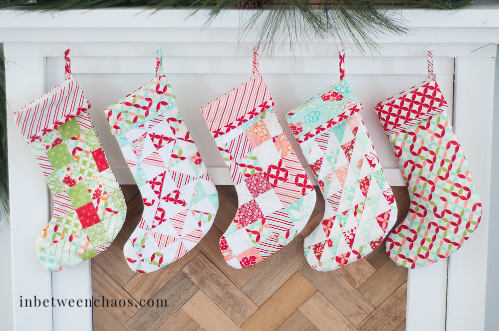 Quilted Stockings | inbetweenchaos.com