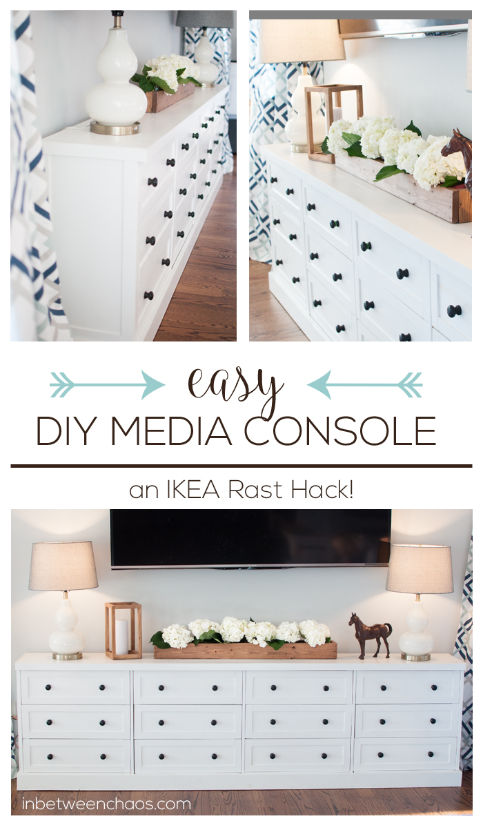 IKEA Rast Hack Media Console | inbetweenchaos.com