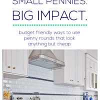 Bath Series – Favorite Budget Friendly Ways to Use Penny Rounds