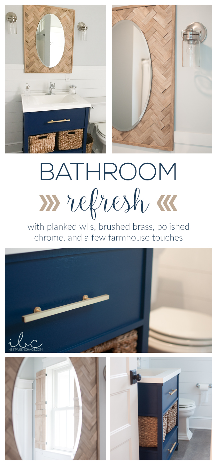 Bathroom Reveal | inbetweenchaos.com