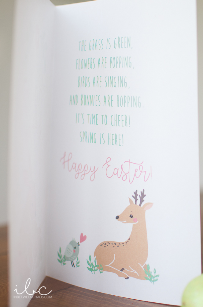 Free Easter Card | inbetweenchaos.com