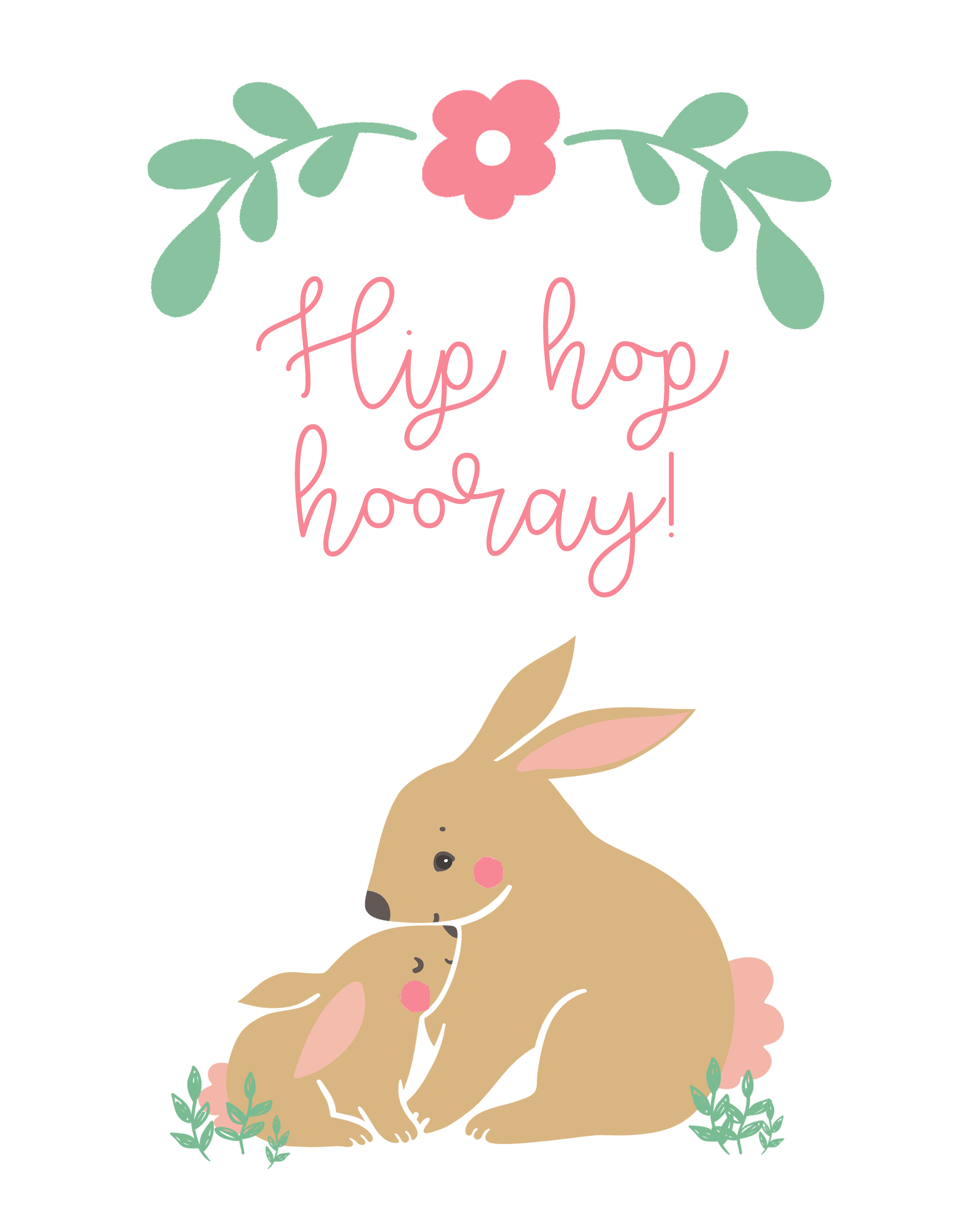 Hip Hop Hooray Printable | inbetweenchaos.com