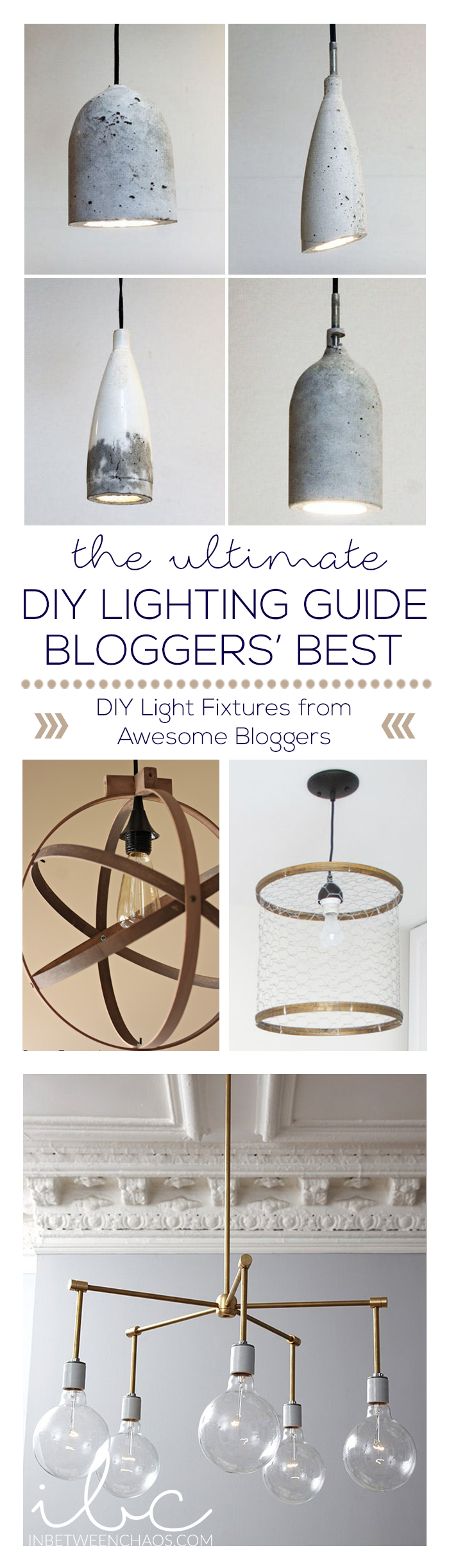Ultimate DIY Lighting Guide | Bloggers Best | inbetweenchaos.com