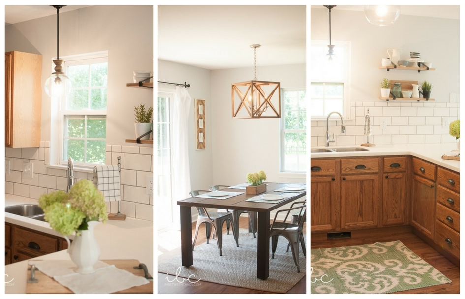 Flip House Tour Before & After | inbetweenchaos.com