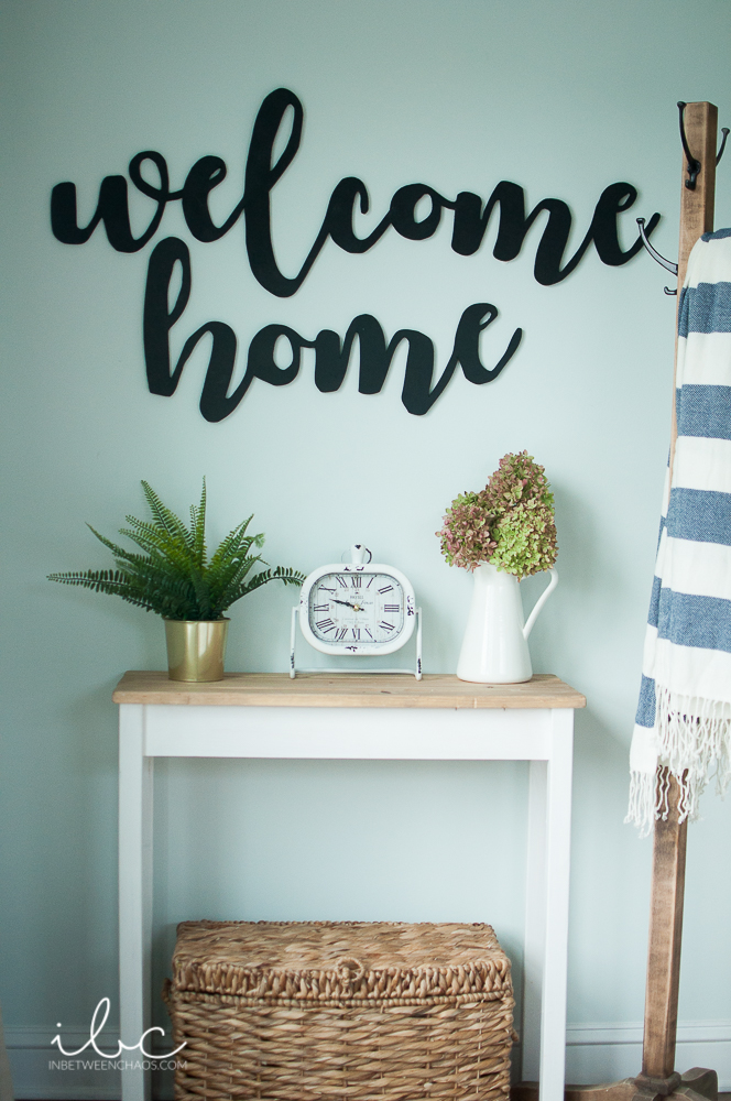 Cursive Cut Word Decor | inbetweenchaos.com