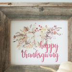 Fall and Thanksgiving Printables