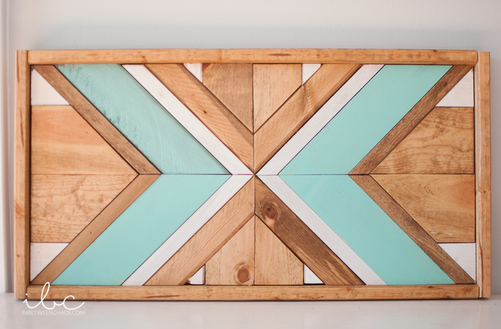 Geometric Wood Art | inbetweenchaos.com