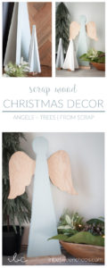 Scrap Wood Christmas Decor | inbetweenchaos.com