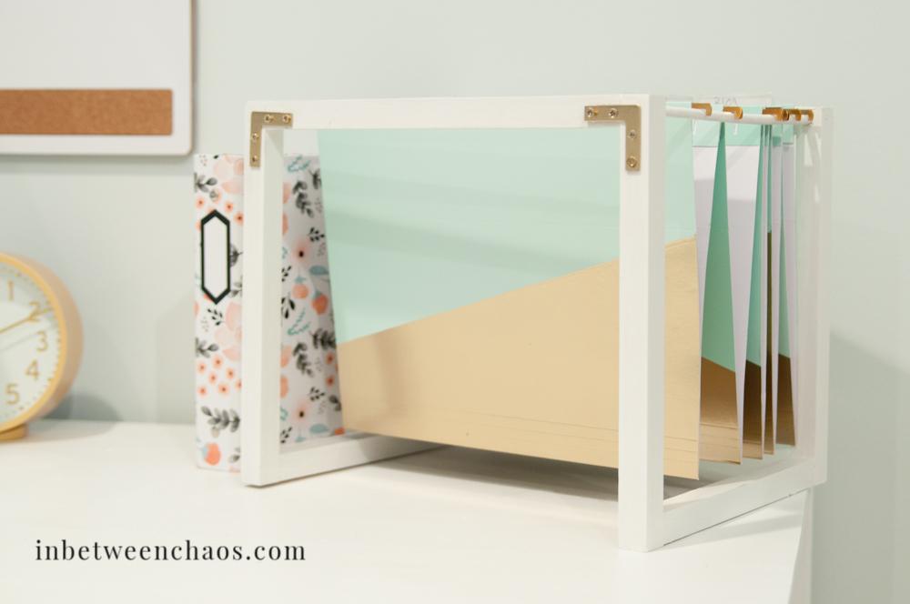 Desktop Hanging File Organizer Desk Ideas